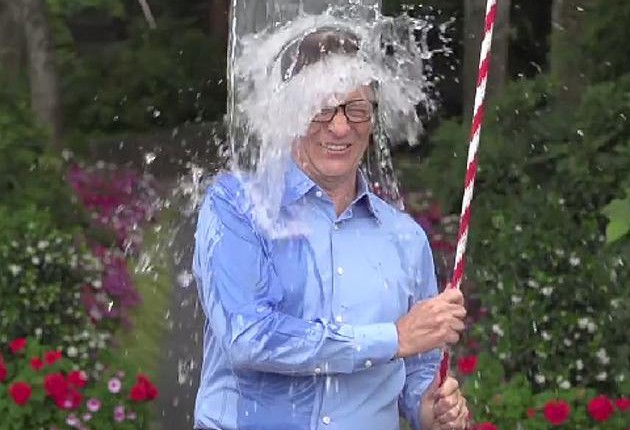 Mit Eiswasser über 600 000 Spender gewonnen