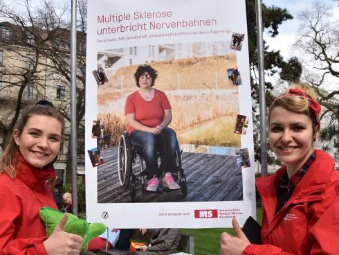 Spenden für Menschen mit MS verbinden