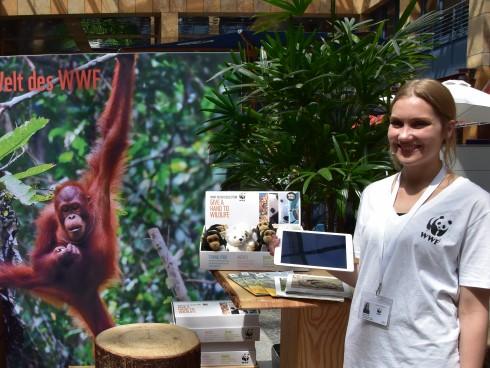 La forêt tropicale s'invite au centre commercial