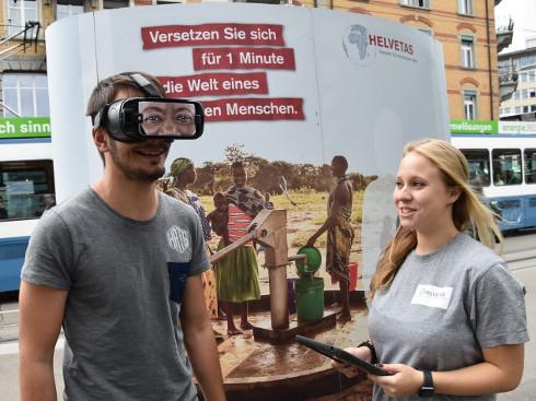 Helvetas-VR-Kampagne: Nomination als «Innovation des Jahres»