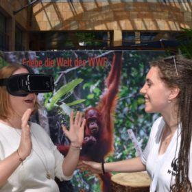 Der neue WWF-Erlebnisstand in der Metalli in Zug